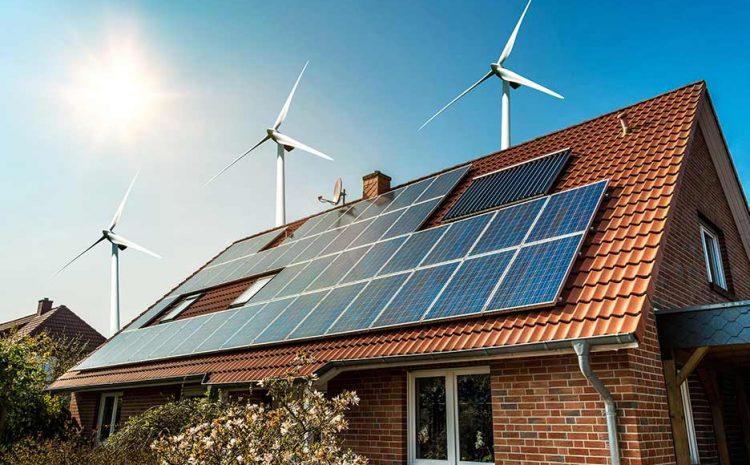 Duurzame energie huis